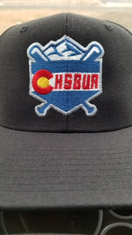 CHSBUA LOGO BLACK OR NAVY UMPIRE HAT