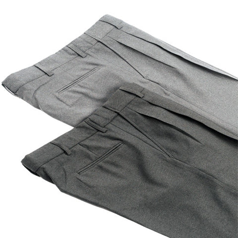 SMITTY PLEATED POLYSTER PLATE PANTS