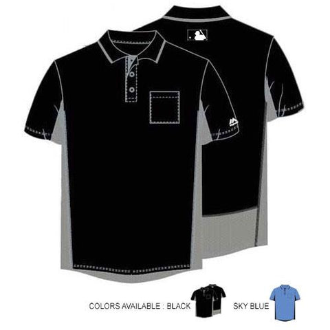 MAJESTIC AUTHENTIC SIDE PANEL UMPIRE SHIRTS