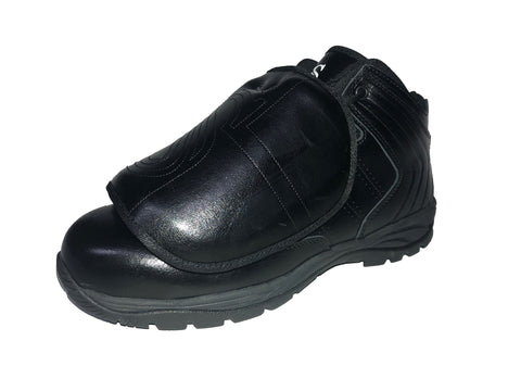SMITTY ALL-BLACK MID-CUT UMPIRE PLATE SHOE