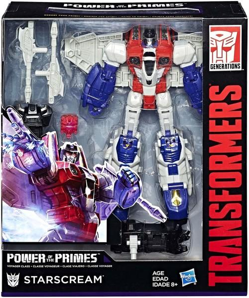 Transformers Generations Power of the Primes Voyager Wave 1 Starscream