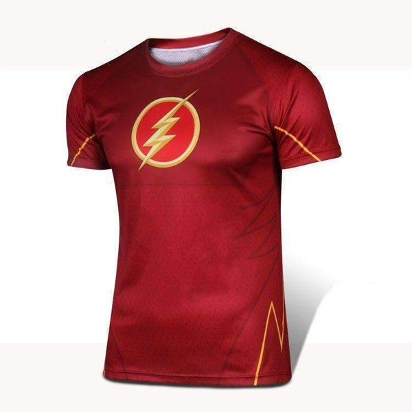 Mens The Flash Sports T-Shirt - geektoysuk