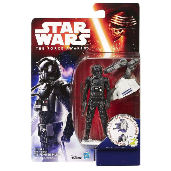 Star Wars Action Figures 10cm 2015 Jungle/Space First Order TIE Fighter Pilot - geektoysuk
