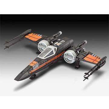 Star Wars Episode VII Build & Play Model Kit with Sound Poe's X-Wing Fighter 22 - geektoysuk