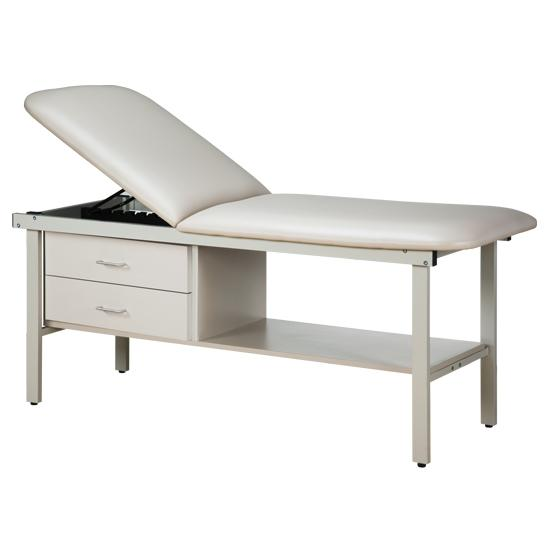 "Treatment Table 3013 Alpha Series w/Drawers; 27"" or 30"" width by Clinton Industries - MedStockUSA.com"