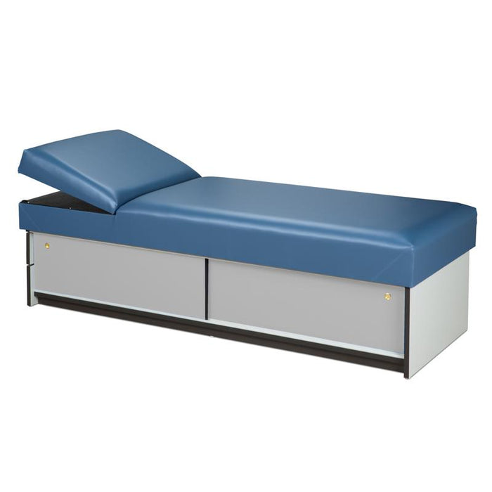 Recovery Couch w/Sliding Storage Doors by Clinton Industries - MedStockUSA.com