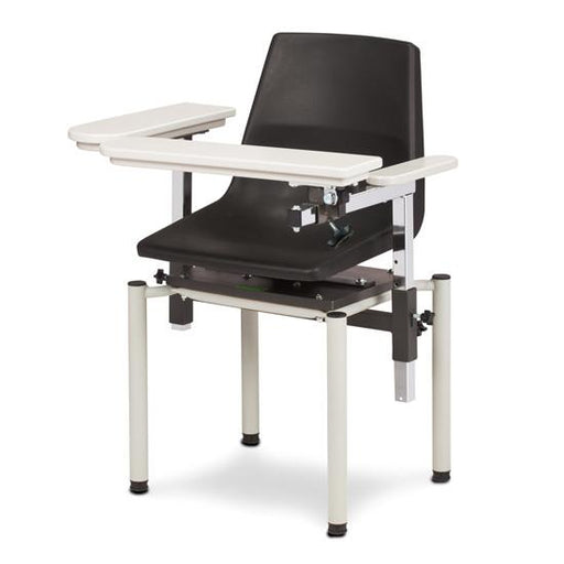 Blood Drawing Phlebotomy Chair w/ClintonClean Arms (SC Series 6040-P) by Clinton Industries - MedStockUSA.com