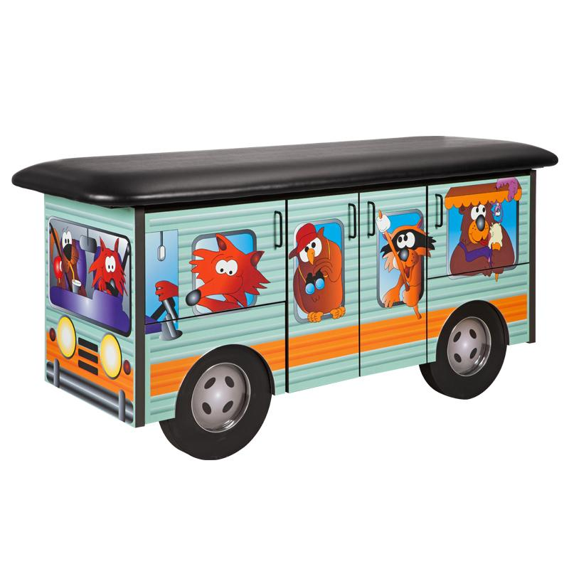 Cool Camper Pediatric Treatment Table by Clinton Industries - MedStockUSA.com