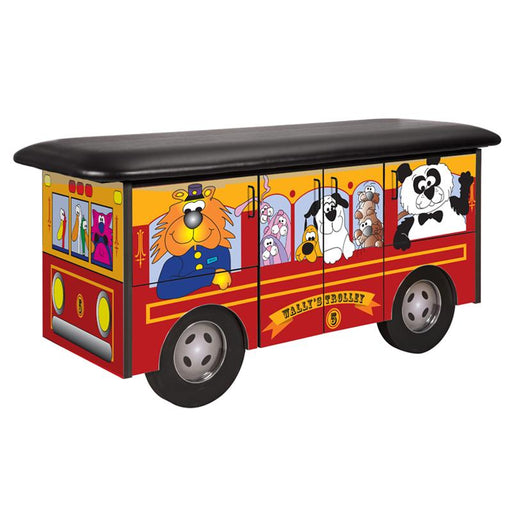 Wally's Trolley Pediatric Treatment Table by Clinton Industries - MedStockUSA.com
