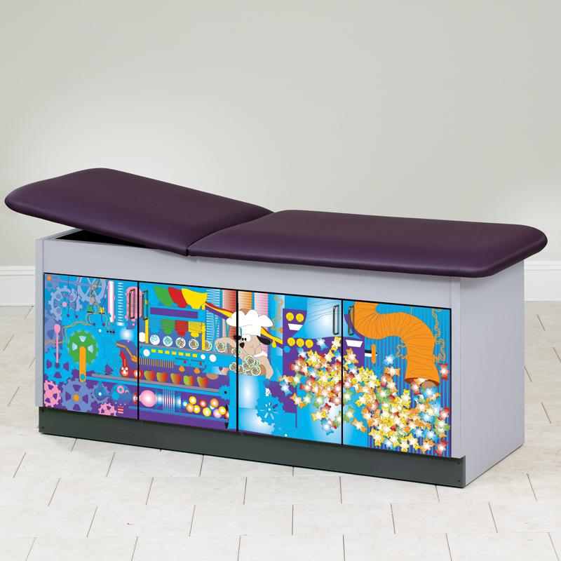 Sweet Dreams Discovery Pediatric Treatment Table by Clinton Industries - MedStockUSA.com