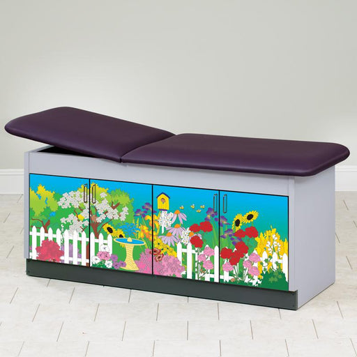 Secret Garden Discovery Pediatric Treatment Table by Clinton Industries - MedStockUSA.com