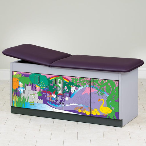 Fairy Tale Dale Discovery Pediatric Treatment Table by Clinton Industries - MedStockUSA.com
