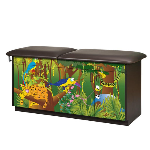 Rainforest Follies Pediatric Treatment Table by Clinton Industries - MedStockUSA.com