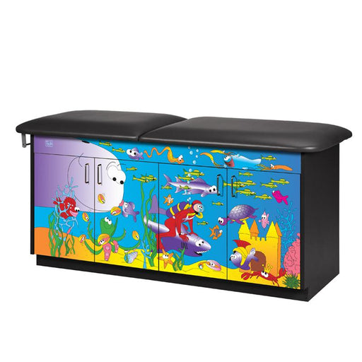 Ocean Commotion Pediatric Treatment Table by Clinton Industries - MedStockUSA.com
