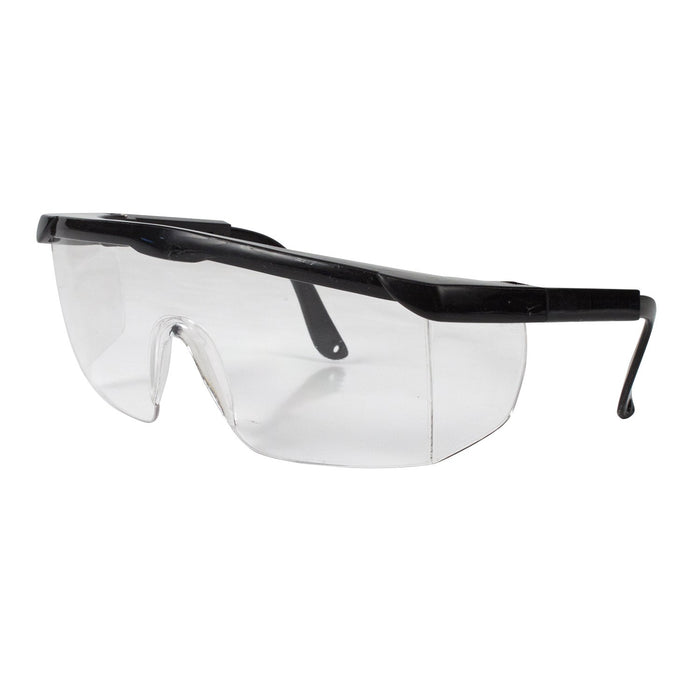 Safety Glasses Black (50/cs) by Dynarex - MedStockUSA.com