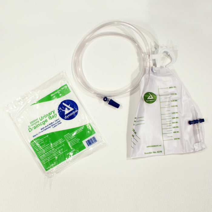 Advantage Urinary Drainage Bag (20/cs) by Dynarex - MedStockUSA.com