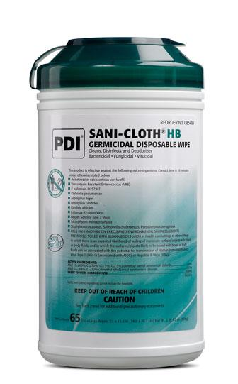 Sani-Cloth XL HB Germicidal Disposable Wipes (6/case) by PDI - MedStockUSA.com