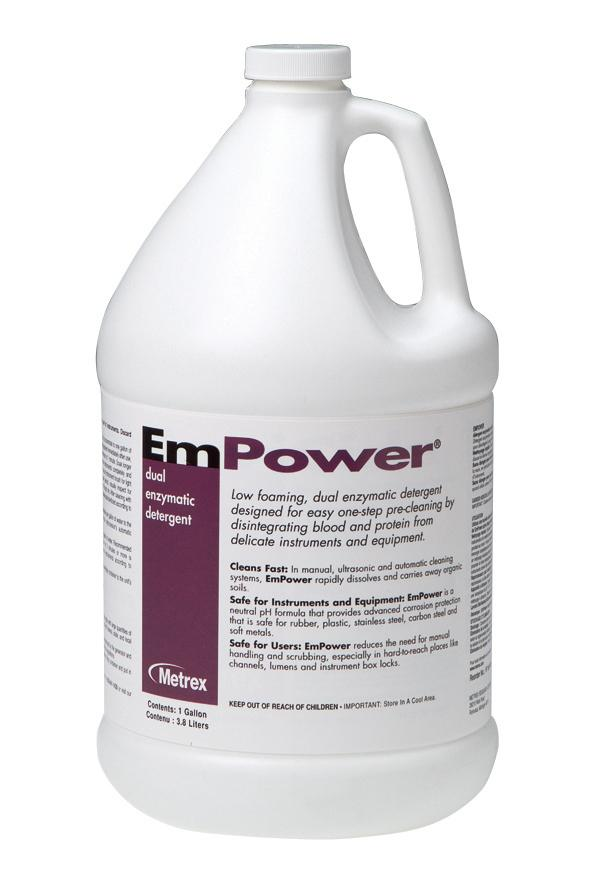 Empower Dual Enzymatic Solution (Gallon) by Metrex - MedStockUSA.com