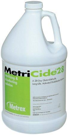 MetriCide® 28 Glutaraldehyde High Level Disinfectant (Gallon) by Metrex - MedStockUSA.com