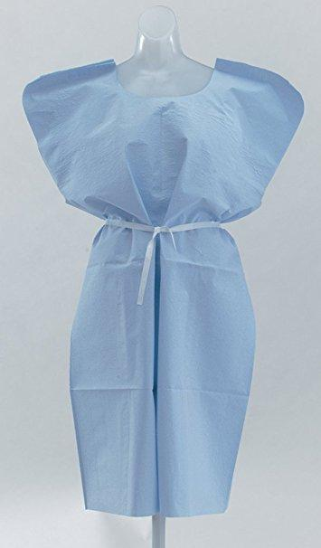 "Standard Exam TPT Gowns; 3 ply 30"" x 42"" (50/cs) by Graham Medical - MedStockUSA.com"