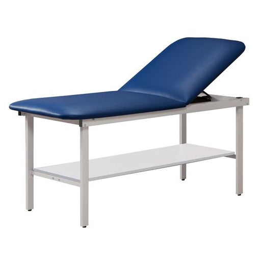 "Treatment Table 3020 Alpha Series w/Shelf; 27"" or 30"" width by Clinton Industries - MedStockUSA.com"