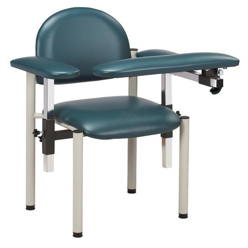 Padded Blood Drawing Chair w/Padded Arms (SC Series 6050-U) by Clinton Industries - MedStockUSA.com