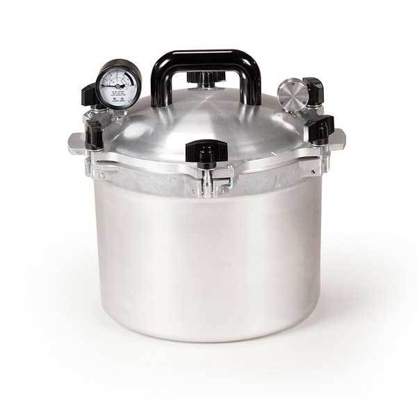 21.5 Quart Pressure Cooker & Canner by Chefs Design/All American by All American - MedStockUSA.com