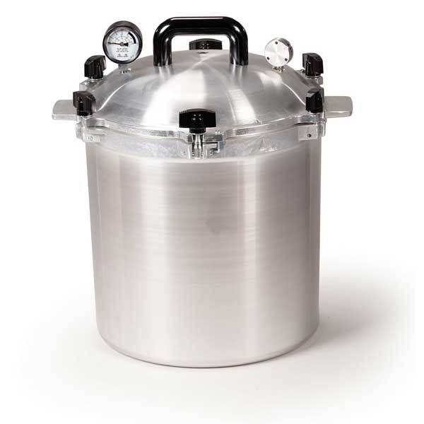 25 Quart Pressure Cooker & Canner by Chefs Design/All American by All American - MedStockUSA.com