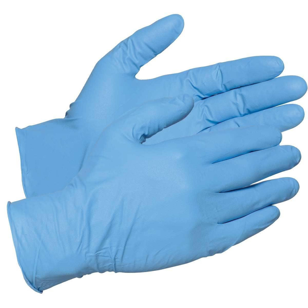 Nitrile Examination Gloves (100/box) Medium by MedStock - MedStockUSA.com