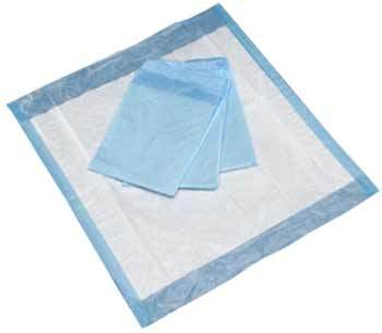 "Underpads / Chux; Medium 23"" x 24"" (200/cs) by Cost Effective - MedStockUSA.com"