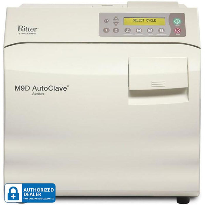 Midmark Ritter M9D UltraClave Sterilizer Autoclave - New! by Midmark - MedStockUSA.com