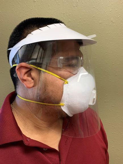 Disposable Face Shields by MedStockUSA.com - MedStockUSA.com
