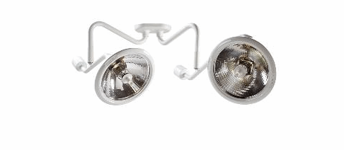 Midmark Ritter 255 LED Dual Mount Procedure Light by Midmark - MedStockUSA.com