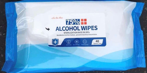 Disinfection Wipes - 75% Alcohol (40/pk)