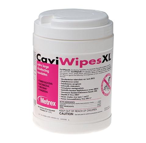 CaviWipes Disinfectant Towelettes - Large (160/can) by Metrex - MedStockUSA.com