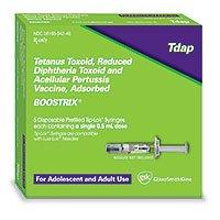 Boostrix Tdap (Adolescent & Adult) Injectable PFS .5mL (10/pk) by GlaxoSmithKline - MedStockUSA.com