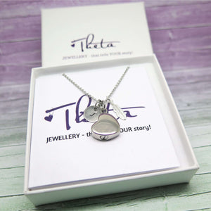 Cremation Necklace to hold Ashes in gift box