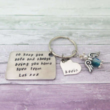 Guardian Angel Keyring