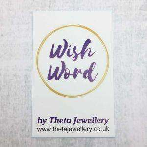 Wish Word Card