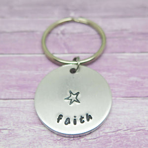 Wish Word Keyring