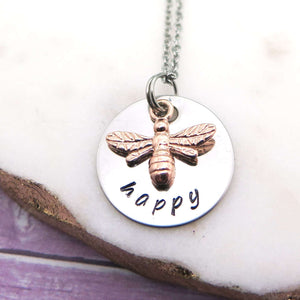 theta_jewellery_Bee Necklace