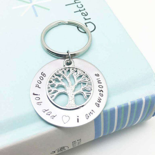 theta_jewellery_Best Dad Keyring