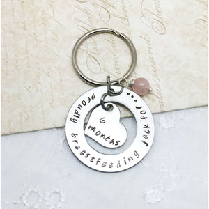 Breastfeeding Keyring