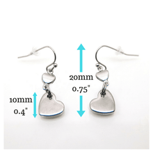 theta_jewellery_Checkout Offer Heart Drop Earrings