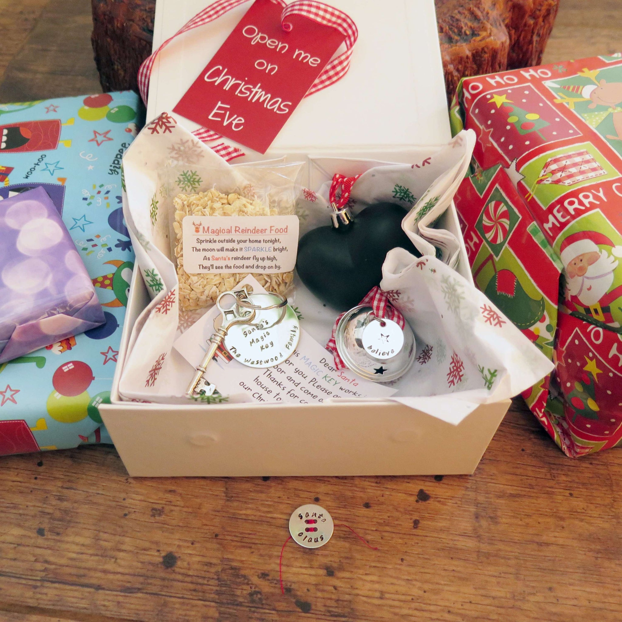Christmas Eve Box For Children Including Santas Lost Button