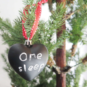 Chalkboard Christmas Tree Ornament