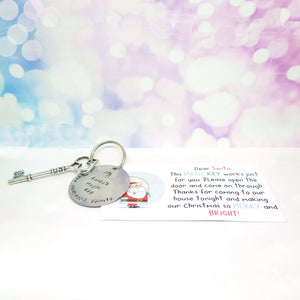 Santa's Magic Key Personalised with a Family Name