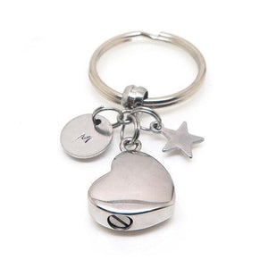 theta_jewellery_Cremation Keyring to hold Ashes