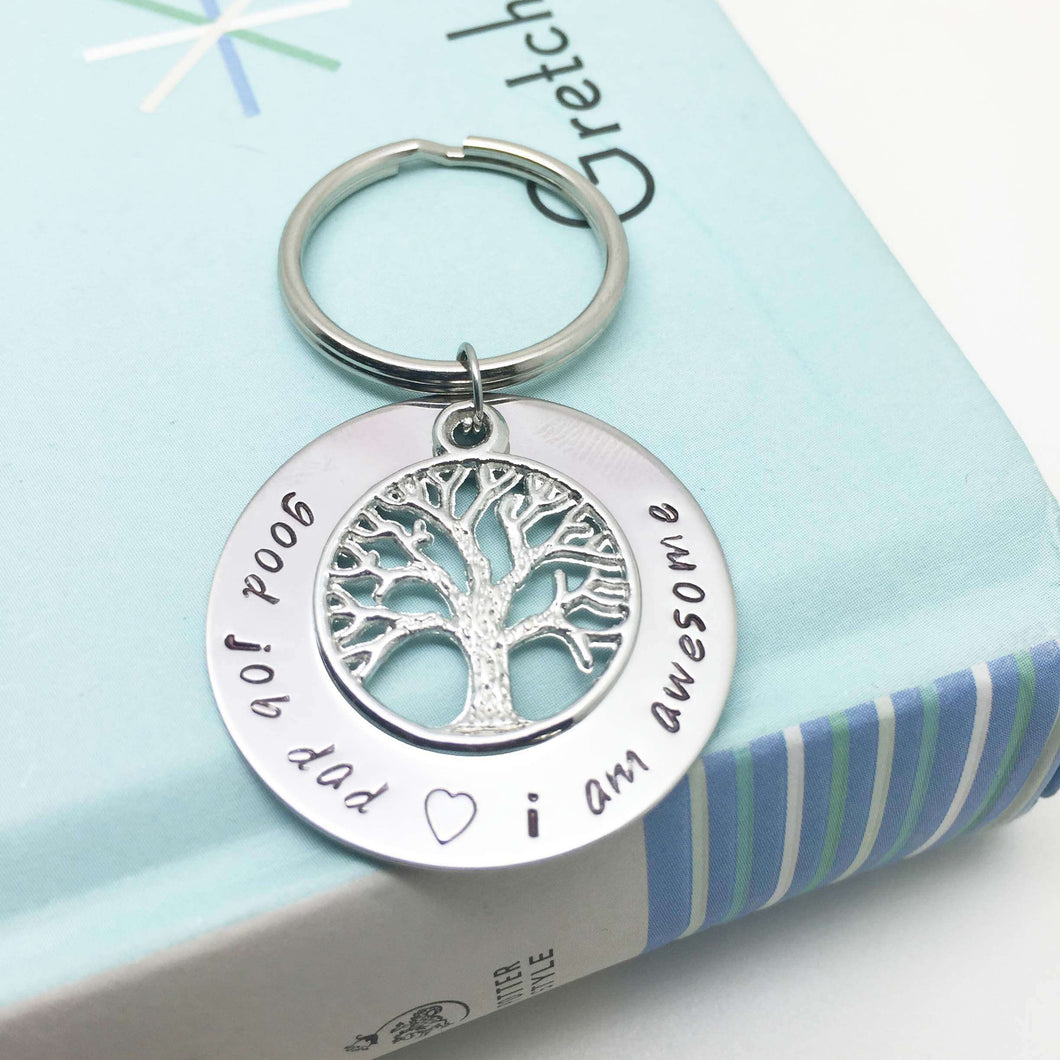 Family Tree Keyring