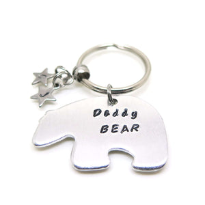 theta_jewellery_Daddy Bear Keyring